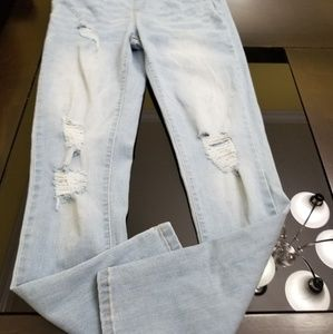 Forever 21 Jeans - Women Ripped Overalls